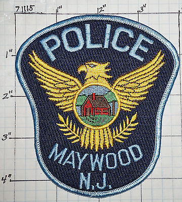 New Jersey, Maywood Police Dept Patch