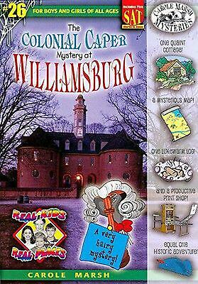 The Colonial Caper Mystery at Williamsburg by Carole Marsh (English) Paperback B