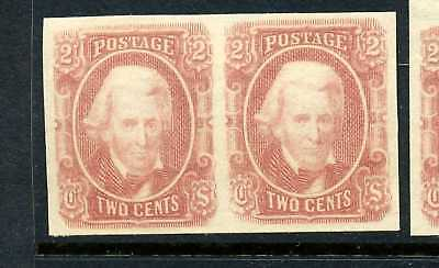 Confederate States #8 Mint Pair NH ( Stock CSA  #8-10 )