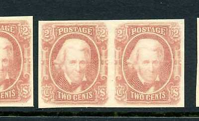 Confederate States #8 Mint Pair NH ( Stock CSA  #8-16 )