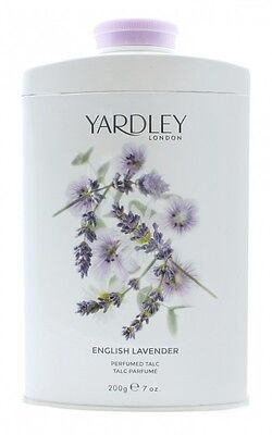 Yardley English Lavender Perfumed Talc 200G - Women's For Her. New