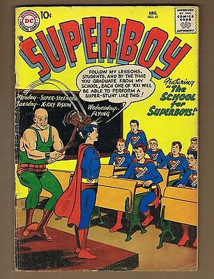 Superboy 61 (G) Silver Age comic book (c#02041)