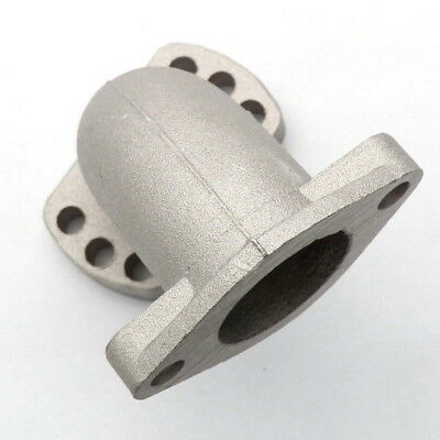 ADJUSTABLE 26MM Intake Manifold Pipe FOR CARBURETOR Pit Dirt Bike ATV QUAD IN27
