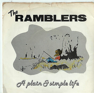 "The Ramblers - A Plain & Simple Life 7"" Single"