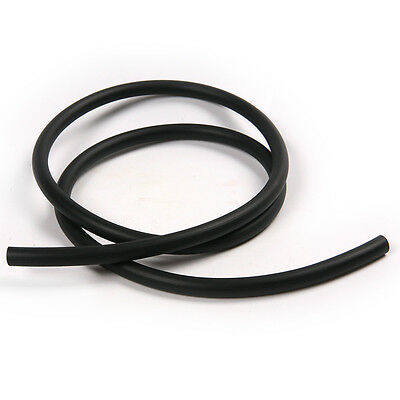 Oil Fuel Petrol Resistant Hose Pipe Gasoline Rubber Tube For Motorcycle Black