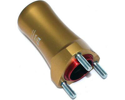Wildkart 115mm x 25mm Front Hub Gold UK KART STORE