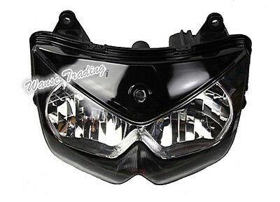Front Headlight Headlamp Head Lamp Light Clear For KAWASAKI Ninja 650R Z750 ER6F