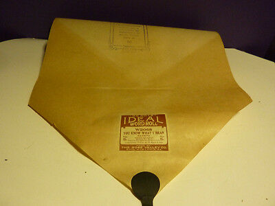 Vintage Piano roll IDEAL by Rose Vally Co 88 note #W2068 You Know What I Mean
