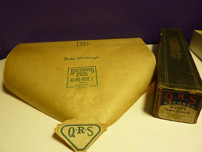 Vintage Piano roll QRS M-616070 Cheerie-Beerie-Be