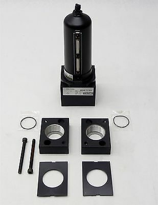 "Parker Pneumatic Coalescing Filter P3NFA9PESM 1-1/2"" w/ P3NKB9BCP Port Block Kit"