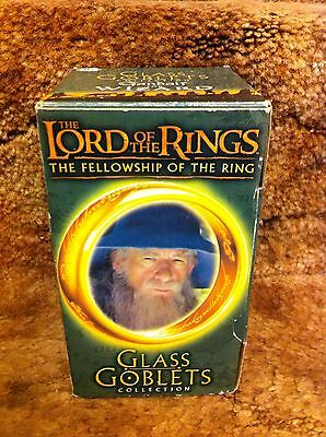 Burger King Lord Of The Rings Movie Gandolph Glass Goblet New In Box