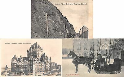 Lot of 5 Early 1900's Quebec, Canada Postcards, 1 RPPC #51468