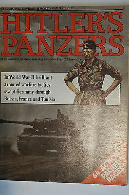 WW2 Special German Hitler's Panzers Marshall Cavendish Reference Book