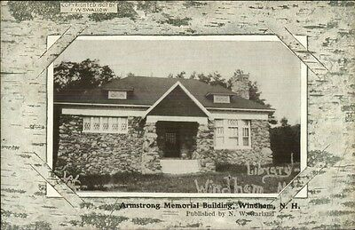 Windham NH Armstrong Bldg c1910 Postcard - Frank Swallow
