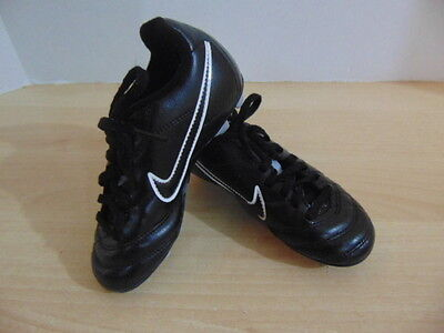 Soccer Shoes Cleats Childrens Size 10 Nike Pink Black