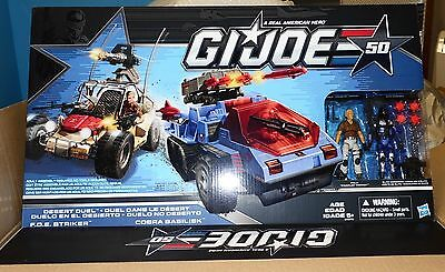GI JOE 50th Anniversary Desert Duel Vehicles with Action Figures Exclusive MIB