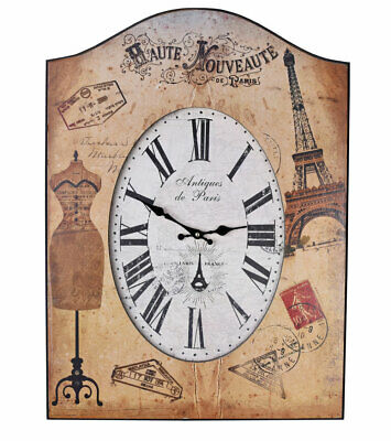 French salon wall clock in vintage style Belle Epoque