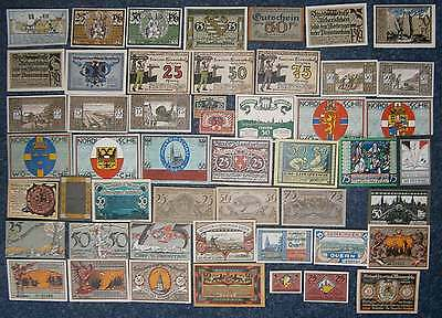 Beautiful Collection Notgeld 50 Different Germany - Free Insuranced Postage Incl