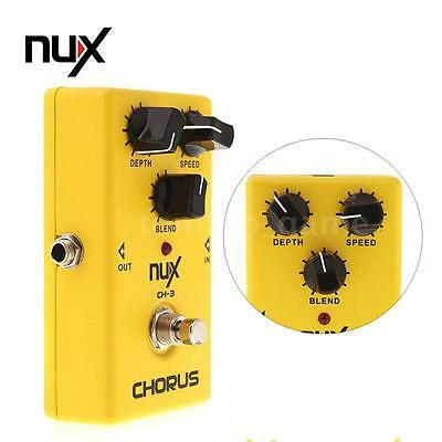 Brand New Guitar Electric Effect Pedal Chorus Low Noise BBD True Bypass NUX CH-3
