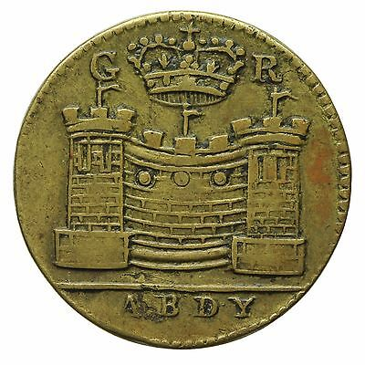 GUINEA BRASS COIN WEIGHT by ABDY