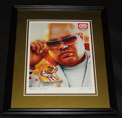 Fat Joe 2003 Marc Ecko Scopes Framed 11x14 ORIGINAL Vintage Advertisement