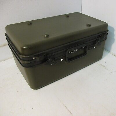 Thermodyne 21x14x10 Slimline Military Hard Cary Case NSN 5855014159822 NIB ATA