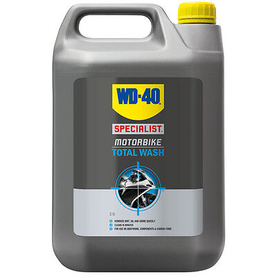 WD 40 motocross Motorbike trail bike Quad Biodegradable Total Wash Cleaner - 5L
