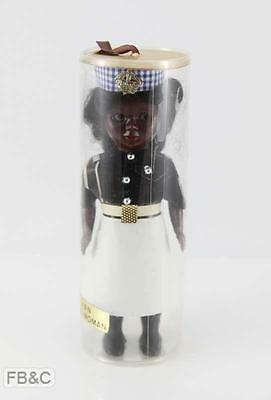 Vintage Fijian Police Woman Doll in Original Container
