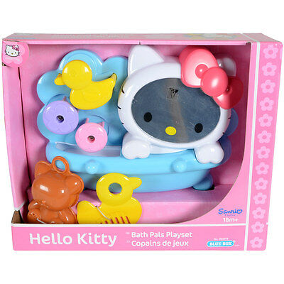 Original Hello Kitty Bath Pals Bathroom Girls Bath Toy Playset Age 18 Months +