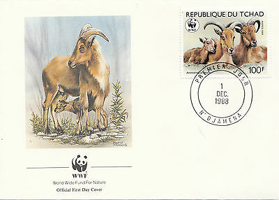 (38052) Chad FDC WWF - 1 December 1988