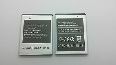 LOT 3 NEW BATTERY FOR SAMSUNG i9100 GALAXY S 2 II