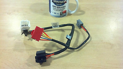 New OEM Blower Motor Resistor Harness 07-09 Sky, Soltice, 06-10 H3 (25949869)