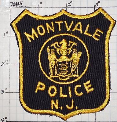 New Jersey, Montvale Police Dept Patch