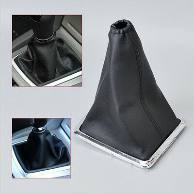 Black Gear Knob Gaitor Gaiters Boot Cover for 2005-2012 Ford Focus