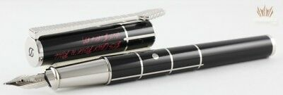 S.t Dupont Limited Edition Neo Classique Rolling Stones Fountain Pen Magnificent