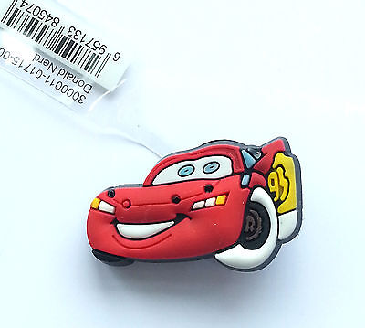 Lightning McQueen Cars Shoe Charm Suitable For Crocs Jibbitz Red Car