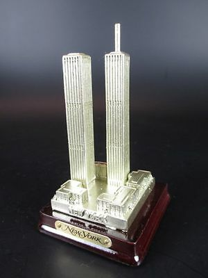 "New York World Trade Center WTC ""Alt"" 10 cm Poly Modell USA Amerika Souvenir"