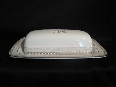 Noritake CIRQUE 9319 - Covered Butter Dish BRAND NEW