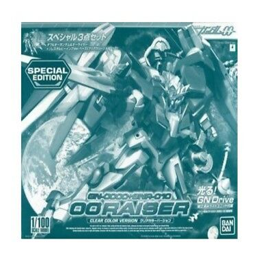 Gundam 00 Raiser 1/100 Clear model kit Bandai SDCC 2010