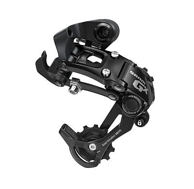 Sram GX - Rear Derailleur Type 2.1 - 10 Speed - Black - Medium