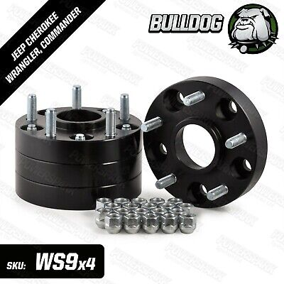 Jeep Grand Cherokee (SRT) 2012- 30mm 5x127 Bulldog 30mm wheel spacers