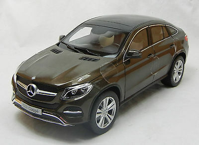 Modelcar Scale 1/18 1:18 Mercedes GLE Class Coupe SUV citrinbrown 2015 brown