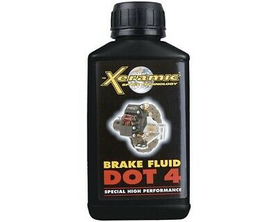 Xeramic DOT 4 Brake Fluid 250ml UK KART STORE