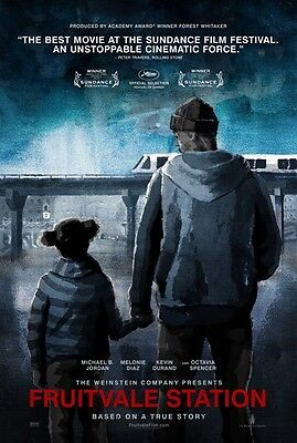 FRUITVALE STATION - 2013- orig 27x40 D/S ADV movie poster - MICHAEL B. JORDAN