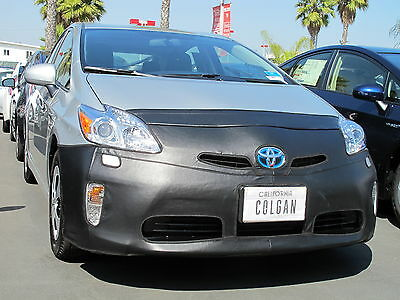 Colgan Front End Mask Bra 2pc. Fits 2012-2015 Toyota Prius With License Plate