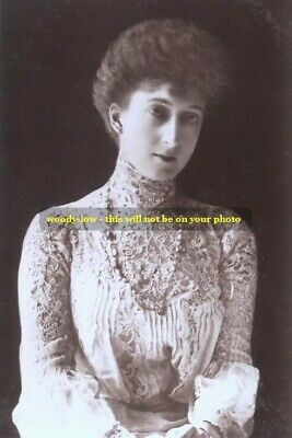 """mm70 - Queen Maud of Norway daughter King Edward VII - Royalty photo 6x4"""""""