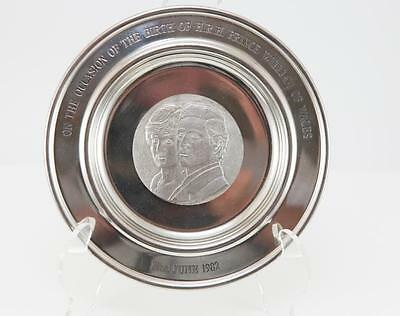 1982 Royal Birth Portrait Dish by Kirra Pewter Melbourne #36 - Prince William
