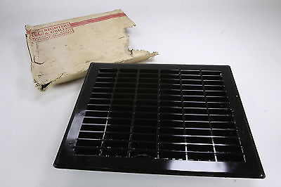 "NOS H&C Registers & Grilles Steel Heat Register Grate Air Vent 12"" by 9 7/8"" In"