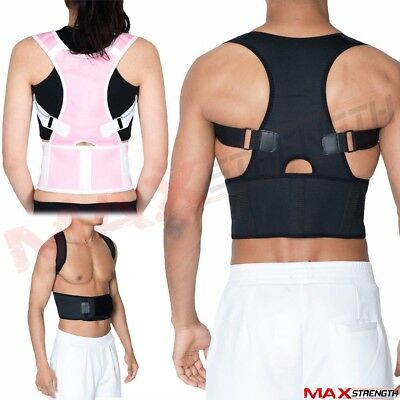 Therapy Posture Corrector Body Back Pain Belt Brace Shoulder Support