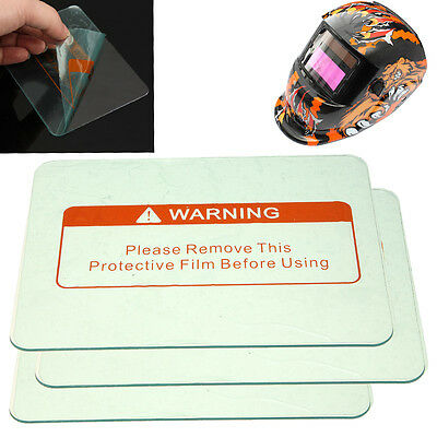 1/3/5PCS 4.5'' x 3.5'' Clear Welding Cover Lens protect Plate For Welding Helmet